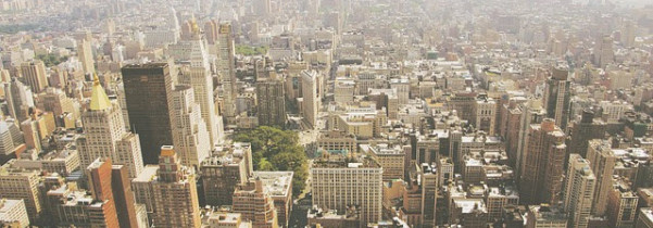 Quartier de l'Upper West Side à New-York