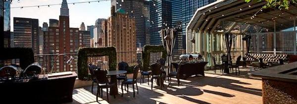 Les plus belles terrasses de New York