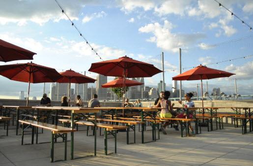 Les meilleurs spots de New York pour bronzer au soleil