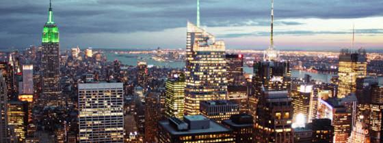 Zoom sur le Rockefeller center de New York